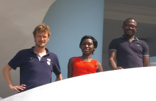 Dirk Becherer, Martha Nansubuga, and Olivier Menoukeu Pamen © private