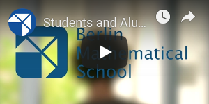 YouTube video: Students and Alumni about the BMS